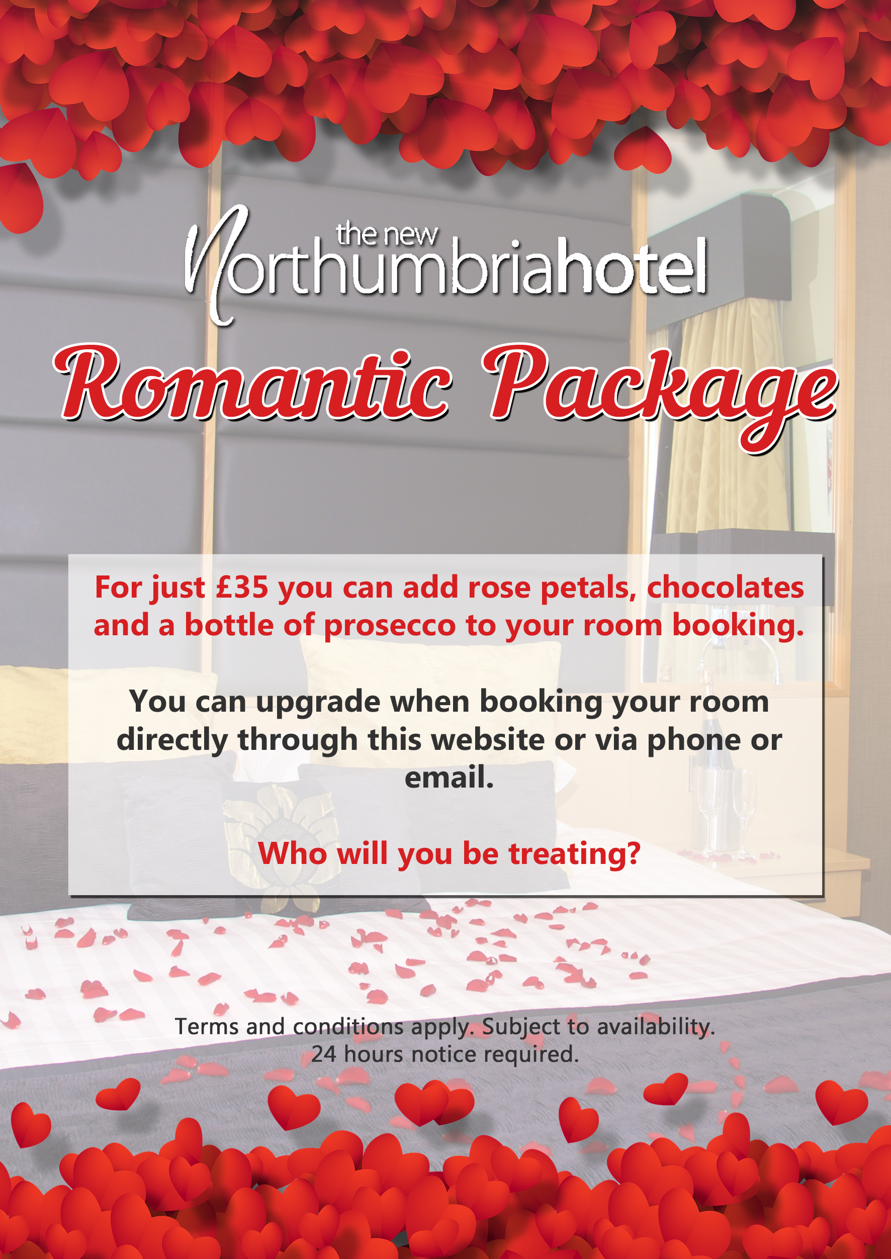 5ed59d18969 Romantic Package Poster for website - The New Northumbria Hotel